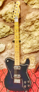 Iconic Garnet Lawsuit Deluxe tele
