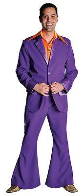 70's Deluxe PURPLE  Pimp / Disco Suit , sizes 38-50