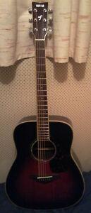 Yamaha FG730s tobacco sunburst acoustic guitar