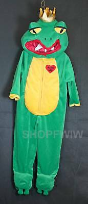 Authentic Kids Baby Infant Plush Frog Prince Halloween Costume 12/18mo.