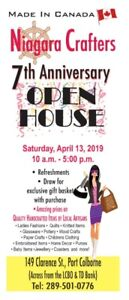 Niagara Crafters Open House April 13 2019