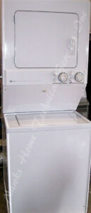 Maytag Large Stacking Washer Electric Dryer, 1 year warranty