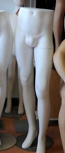 Half Body Mannequin - Male - White
