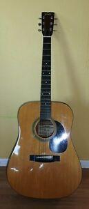 Guitare Fender F03 de collection (1980).