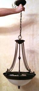 Beautiful stylish chandelier