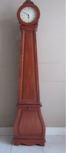 Grandmother Clock With Storage