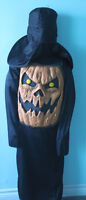 YOUTH faceless scary pumpkin costume