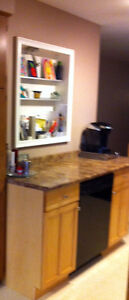 Kitchen cabinet/counter top