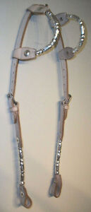 Western Bridle + Reins 2 Ear Silver Set Saddles + Tack For Sale London Ontario image 9