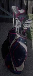 WILSON HOPE Ladies Left Handed Golf Clubs and Bag