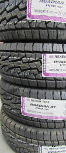 30X9.50R15 Unused Tires Nexen Roadian A/T