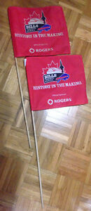 Buffalo Bills in Toronto - Promotional Flags circa 2008
