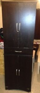 for sale 2 storage cabinets
