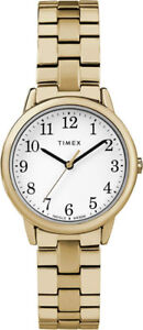 Timex Women's Dress style Collection Gold Dial Quartz Watch