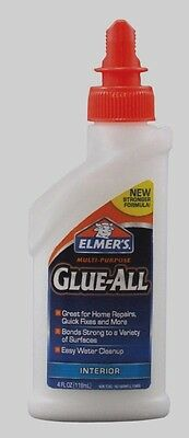 Nonflammable Dries Clear High Strength Adhesive New E3810 (Elmers Glue All)