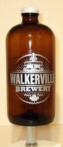 WALKERVILLE BREWERY STUBBY DRAUGHT BEER BOTTLE TAP HANDLE