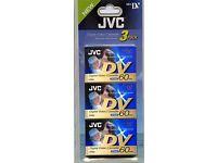 Digital Video Tapes (JVC - sealed)