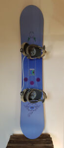 Mistral Cruise Snowboard with RIDE Bindings - $200