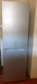 Logik silver fridge freezer