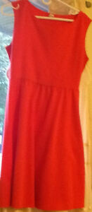 3 DRESSES sizes M & L, 1 SKIRT size 10 $8-$10 see all pics   or