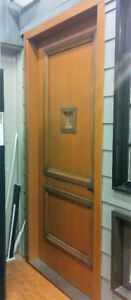 Custom Wood Door 3 inch Thickness With Multi-point Lock