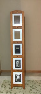 Solid Wood Floor Standing, Picture Frame Holder