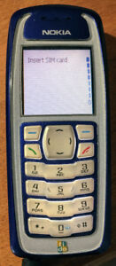 Nokia 3100b Classic Candy Bar Cell Phone & Charger Works Great