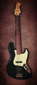 Vintage Japanese Fender J Bass