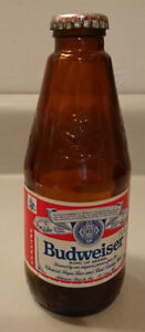 Antique  Amber Anheuser Busch Budweiser King of Beers Bottle