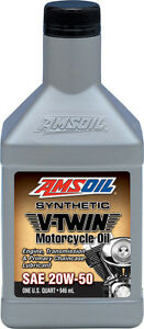 AMSOIL Synthetic Motorcycle Oils & Fuel Additives