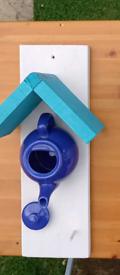 Teapot bird house