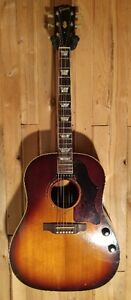 Vintage 1969 Gibson J-160 with case Beatles