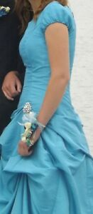 Beautiful Blue Grad Dress for Sale!