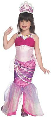 Lumina Mermaid Barbie Pearl Princess Fancy Dress Up Halloween Child Costume (Dress Up Halloween Barbie)