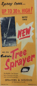 VINTAGE RediMix Tree Sprayer & Nozzle-spray trees up to 30 feet!