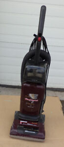 Upright floor vacuum cleaner, HooverHeavy duty, works, include