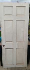 Modern heavy interior wood door