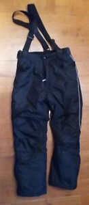 EUC Teen Black Snow Ski pants 14-16