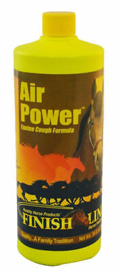 Finish Line Air Power Cough Formula All Natural Horse Equine 34 oz