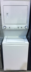 ONE PIECE WHITE STACKABLE WASHER/DRYER UNIT $1399