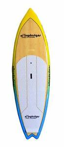 "Stand up paddle board bamboo surf sup 8'6""x29.5""x4"" Alleydesigns Currumbin Waters Gold Coast South Preview"