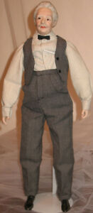 "18 1/2"" 1992 Matthew Doll  Anne of Green Gables  Flo. MacDougall"