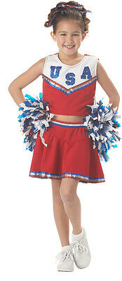 Baby Cheerleader Costume (Patriotic Cheerleader Child)