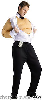 Mens Sexy Chippendale Stripper Stag Do Funny Comedy Fancy Dress Costume - Chippendale Kostüm