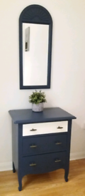 Beautifully Upcycled Drawers & Mirror