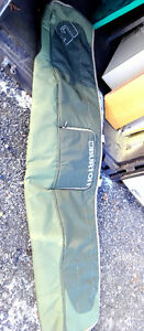 BURTON Ski Snowboard Trave Storage Bag PADDED Top QUALITY Khaki
