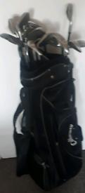 2 Sets of Golf Clubs + Bag