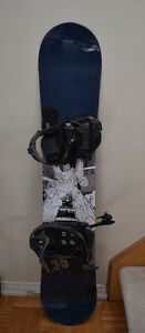 Boys Firefly Snowboard and Bindings, 135 cm, 1.35 Crypto Series