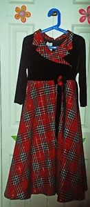 Girl's Christmas Outfit Size 10-12 (dress, shoes, coat, etc...)
