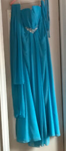 Prom/Ball Gown Light Blue